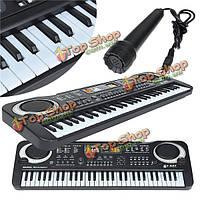 61 клавиш музыка электронная клавиатура ключ настольные подарок малышей электрическое пианино орган