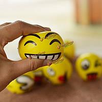 Смайликов смайлик против снятия стресса игрушка аутизм настроение выжимать мяч питчер