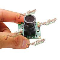 DC12V 800TVL 1/3-дюйма 960H 2.1мм объектив широкоугольный HD CCD камера для FPV Multicopter