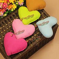 1шт формы сердца мягкие уютные плюшевые маленькие украшения подушки собаки любимчика щенка кошка игрушка