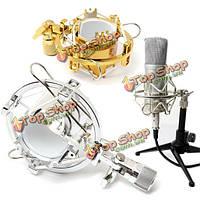 Микрофон подвес колыбели держатель клипа стенд для студии звукозаписи