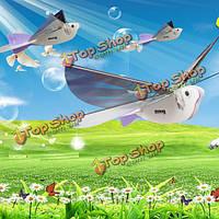 DIY электрический голубь супер конденсатор крыло птицы хлопая игрушка в подарок