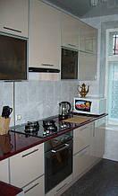 Кухня МДФ, пластик в алюмінієвому профілі під замовлення