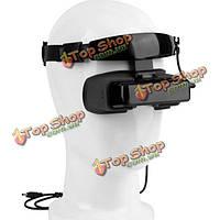 Fpv 5.8G 430 х 240 80-дюймов видео очки 3D-2D гарнитуры контролировать av интерфейс