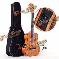 Том БКТ-200e 26 дюймовый укулеле гавайская гитара красного дерева с розы пикапы