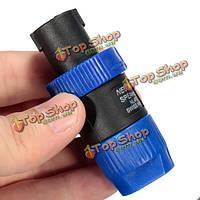 Полюс speakon nl4fc 4 speakon включает кабельный синий соединитель аудио спикера