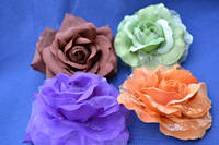 Цветочки на булавке