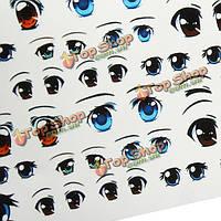 Глазные глиняные глазные этикетки куклы этикеток воды для создания ремесла