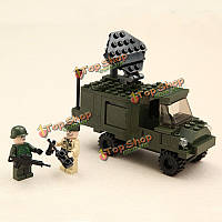 Гуди 108pcs боя коммуникации транспортного средства просветить блок игрушки 600004a