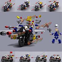 Everjoy 1/24 2.4 мото-блоков головоломки образовательные игрушки сборки ej5001