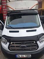 Козырёк на лобовое стекло Ford Transit 2014+