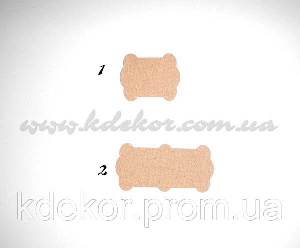 Котушка для стрічок, ниток №2 заготівля для декупажу (матеріал ХДФ)