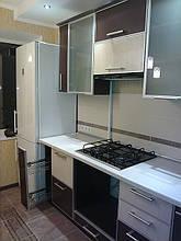 Кухонні меблі в алюмінієвому профілі
