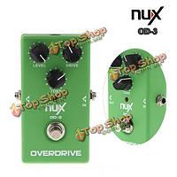NUX OD-3 Overdrive электрическое воздействие гитара педали ра обхода