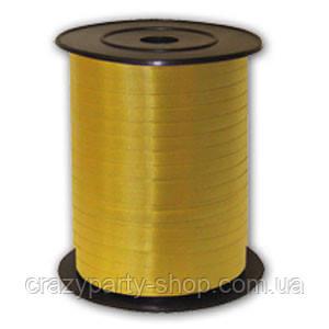 Лента для воздушных шаров  жёлтая