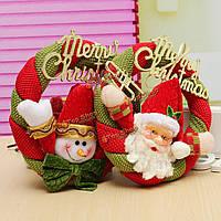 Венок рождественский Happy New Year