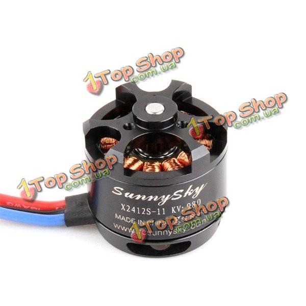 SunnySky x2412s 980kv Бесколлекторный мотор 2212 версия обновления для FPV Multicopter Квадрокоптер