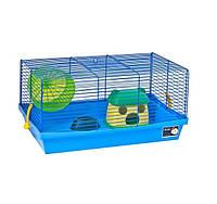 Клетка для мелких грызунов Pet Inn Aladdin 48x28,5x24см (укомплект)
