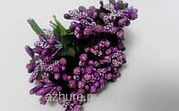 Сложные тычинки фиолетовые