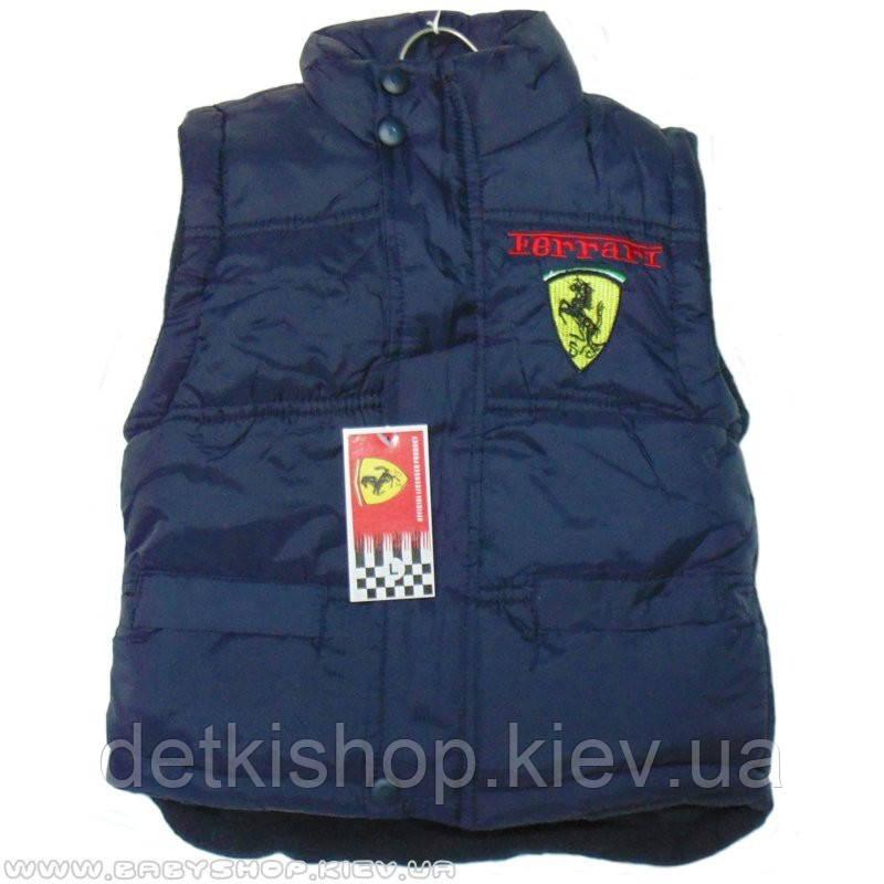 Жилет Ferrari (тёмно-синий)