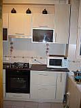 Кухня из ДСП в алюминиевой рамке под заказ, фото 2
