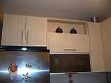 Кухня из ДСП в алюминиевой рамке под заказ, фото 3