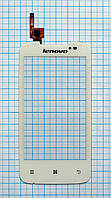 Тачскрин сенсорное стекло для Lenovo A390 white