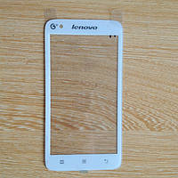 Тачскрин сенсорное стекло для Lenovo A398T white