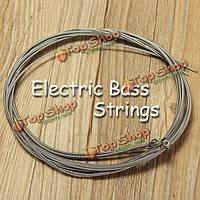 990l бас четырех строка провод электрический бас 4 стали 045-090 музыкальные аксессуары