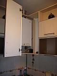 Кухня из ДСП в алюминиевой рамке под заказ, фото 4