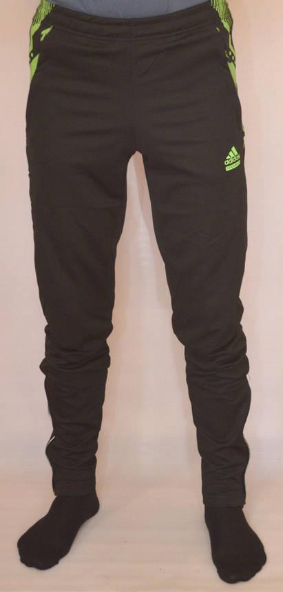 Мужские спортивные штаны ADIDAS (футбольные) (Реплика), фото 2
