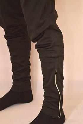 Мужские спортивные штаны ADIDAS (футбольные) (Реплика), фото 3