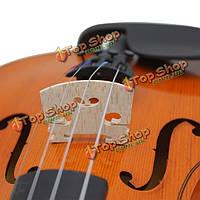 Клен скрипка мост соответствовать 1/8 1/4 & & & 1/2 3/4 4/4 & скрипке