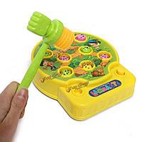 Дети ребенок Whac - а- моль образовательная игра семьи электрические игрушки с милой звука
