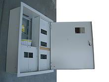 Металлический ящик для трёхфазного счётчика внутренний