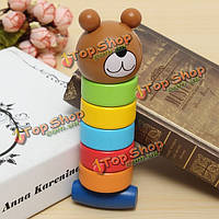 2в1 дерева медведя ярким башня образование детей творческий игрушку многоцветной