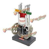 Хуа мао модель бензин 31008 тепловая модель двигателя внутреннего сгорания экспериментальное оборудование