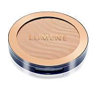 Пудра компактная бронзирующая с  морошкой №02 (мерцающий светло-бежевый+коричневый) - Lumene Arctic Sun Bronze