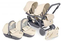 Детская коляска для двойни 2 в 1 Cam Twin Pulsar