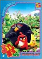 "B001029 Пазли ТМ ""G-Toys"" із серії ""Angry Birds"", 35 елементів (шт.)"