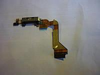 Шлейф для iPhone 4, с разъемом зарядки, с микрофоном, черный