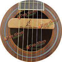 Аделина W- джаза объявления -47 древесный акустическая гитара пикап активный звук отверстие