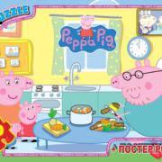 """PP005 Пазли ТМ """"G-Toys"""" із серії """"Свинка Пеппа"""", 70 елементів (шт.)"""