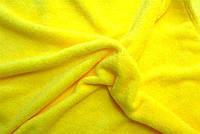 Плед из флиса Желтый