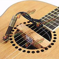 Аделина AD- 39T древесный народная акустическая гитара пикап пассивный звук отверстие