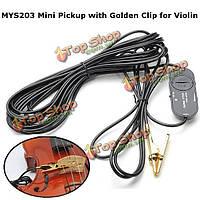 Mys203 Mini пикап с золотой зажим для скрипки