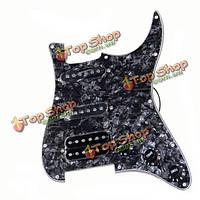 ST2 электрогитара стандартных проблескивая черный pickguard оболочки