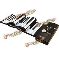 Iword смоченной складной USB фортепиано с 61 ключевых midi клавиатуры s2026-61
