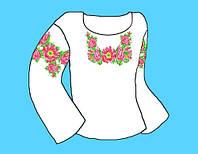 Заготовка для детской сорочки (4-9 лет) на девочку