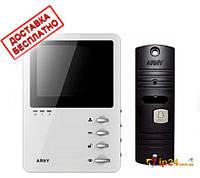 Комплект видеодомофона Arny AVD 410M + AVP 05, фото 1